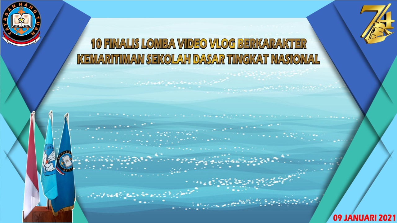 Virtual Background Lomba Vlog Kemaritiman